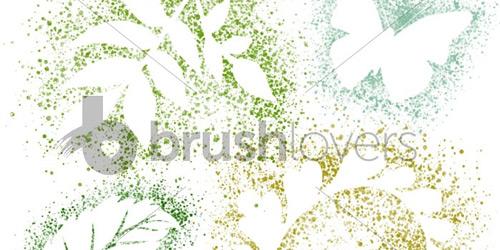 Nature Spatter brushlovers