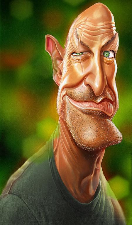 John Locke caricature