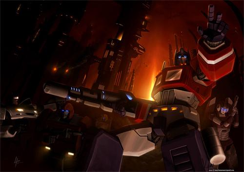 Optimus Prime Dawn