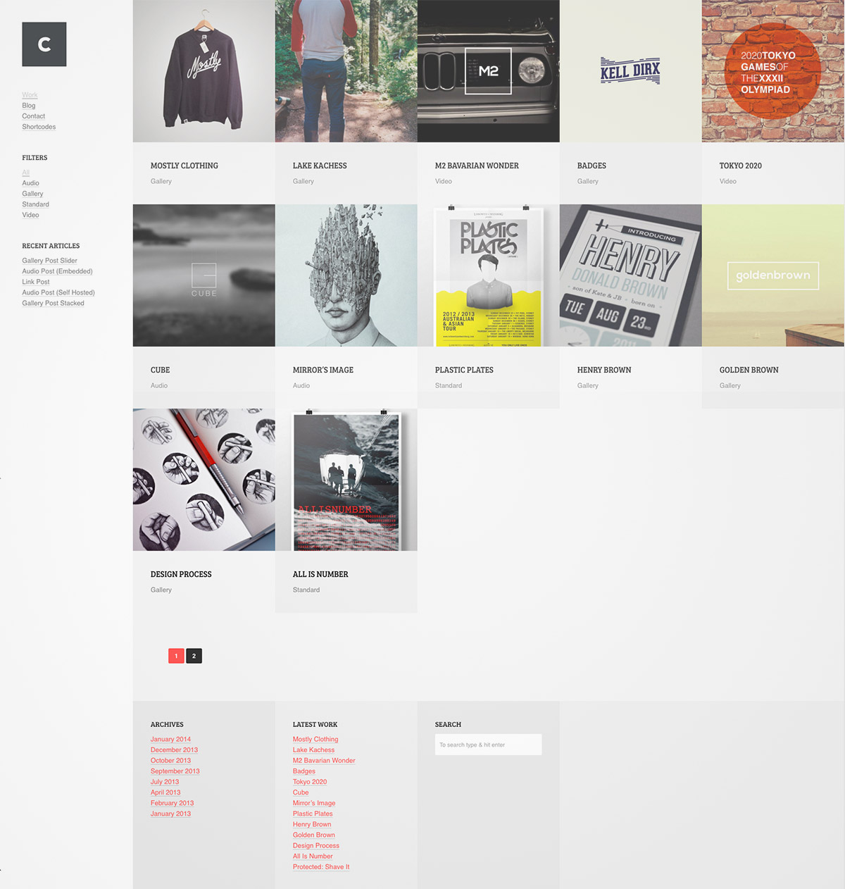 customize portfolio theme