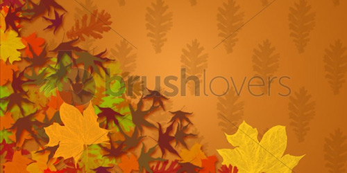 Fall Leaves brushlovers