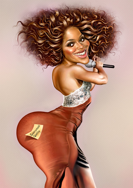 Beyonce caricature