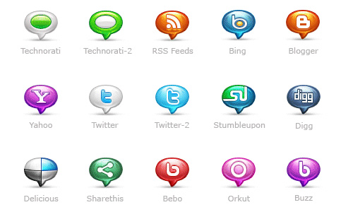 social icon packs