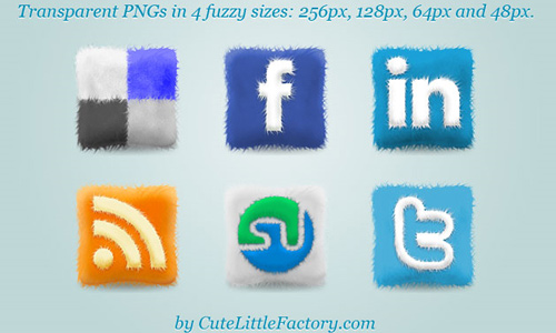 cool social icons