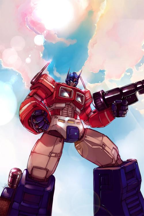 Optimus Prime for Chris
