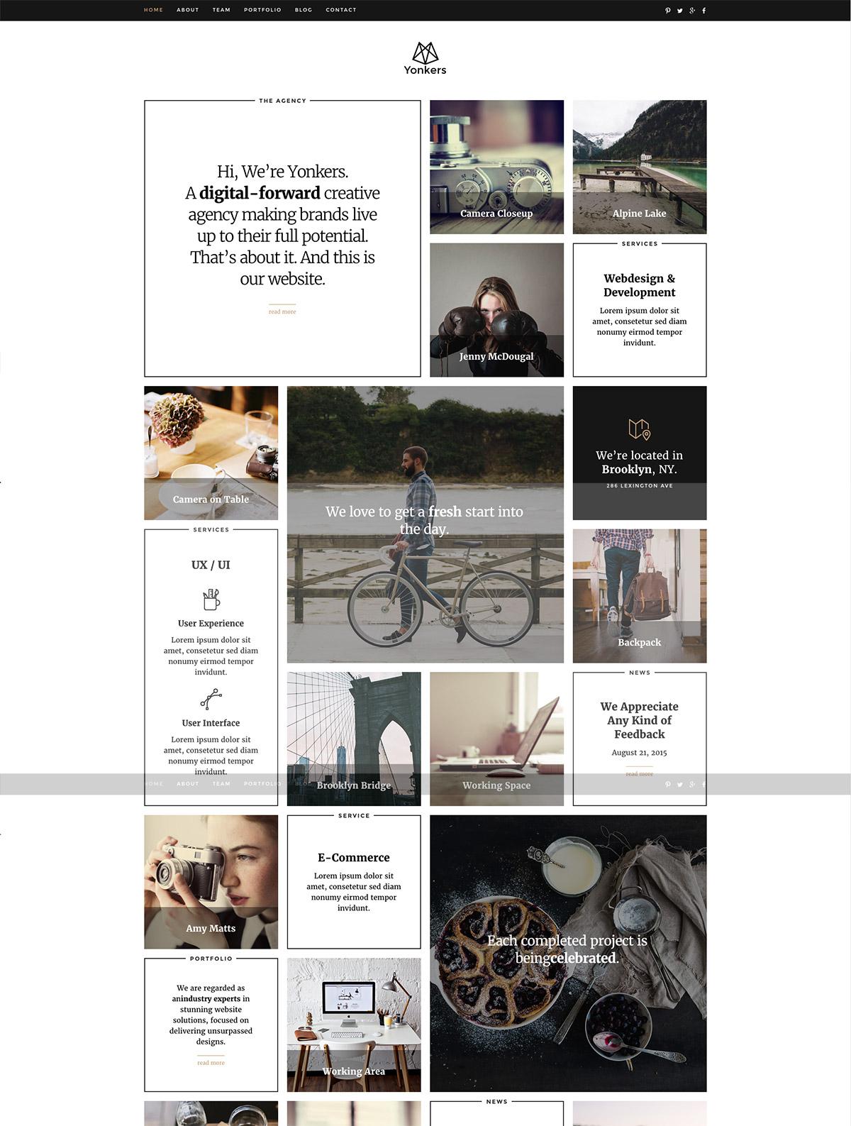 portfolio premium theme