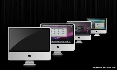 aluminium imac icons
