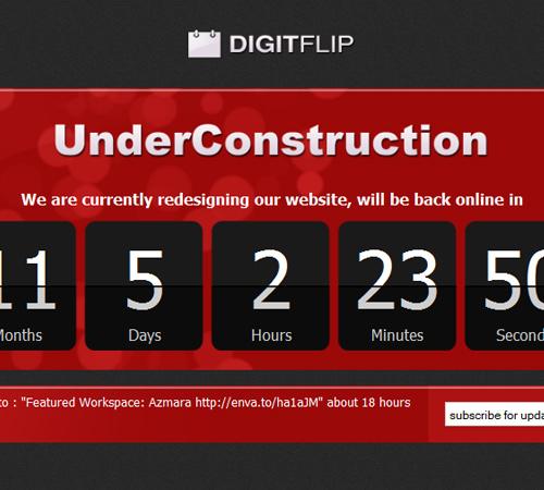 digitflip underconstruction