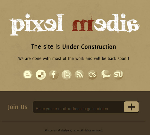 pixel media under