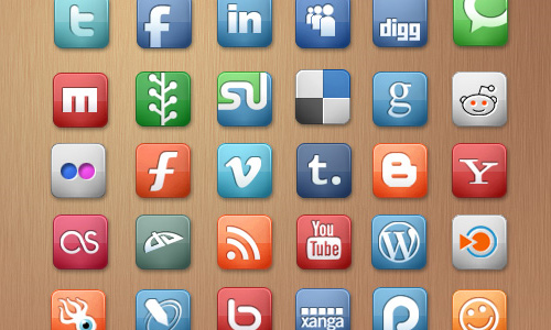 media icon sets
