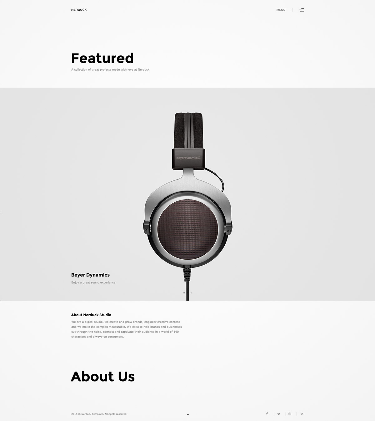 premium portfolio wordpress