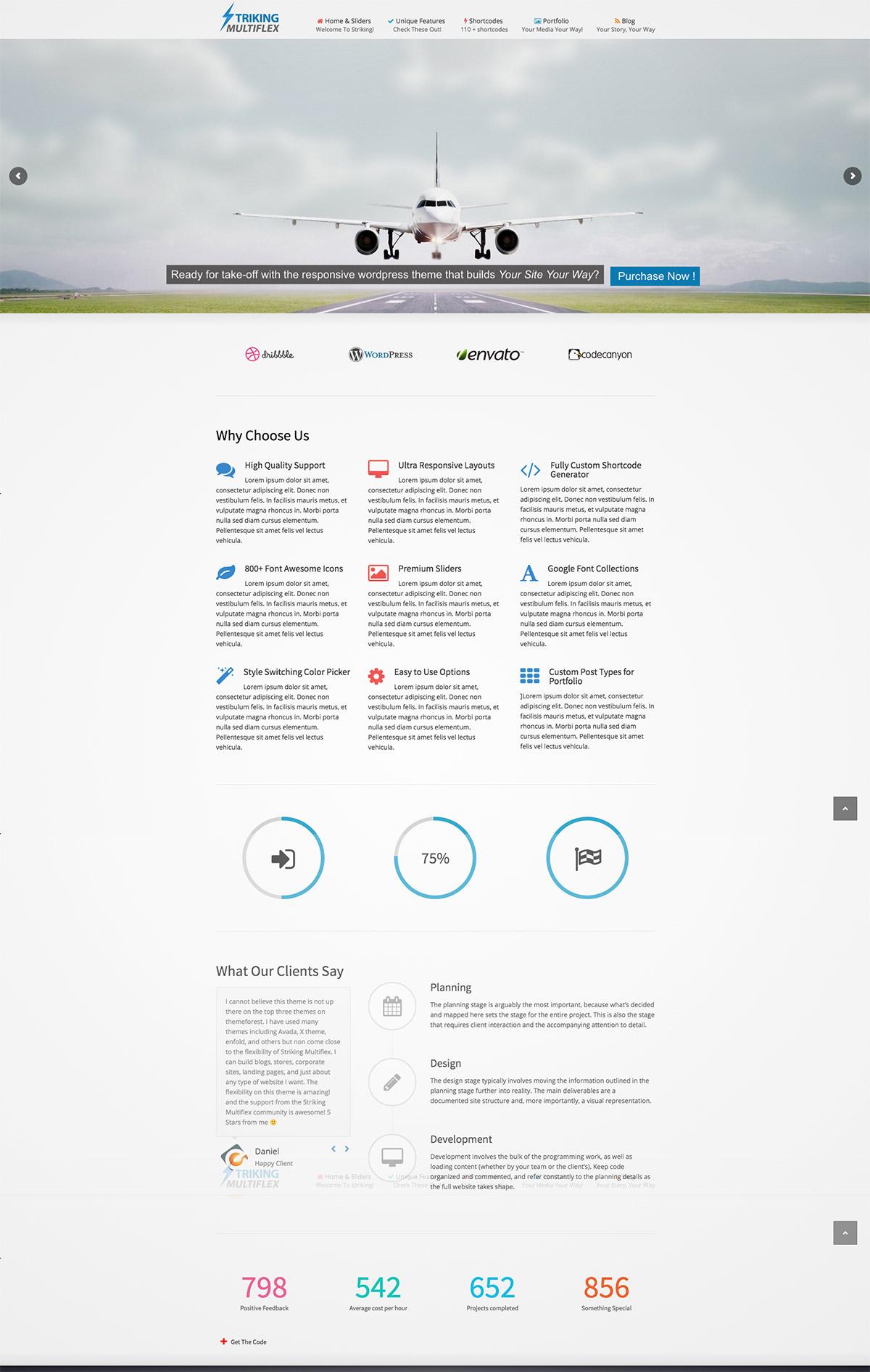 ecommerce portfolio theme
