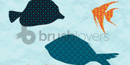 Tropical Fish brushlovers