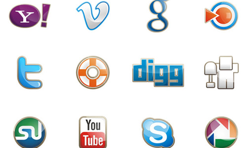 two social icon