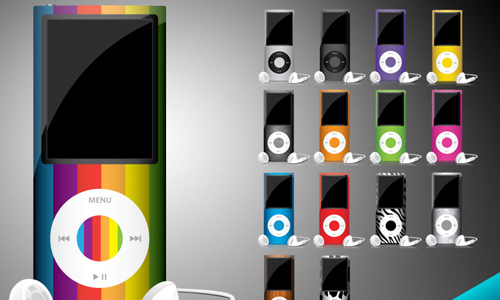 ipod-chromatic icons