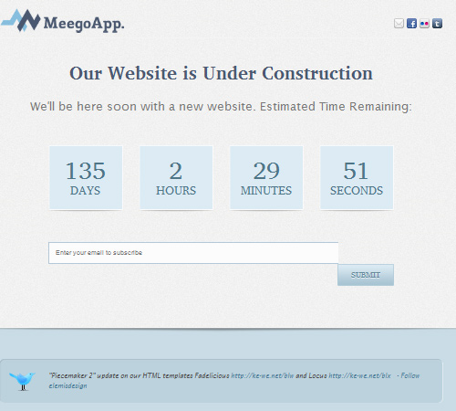 xhtml under construction