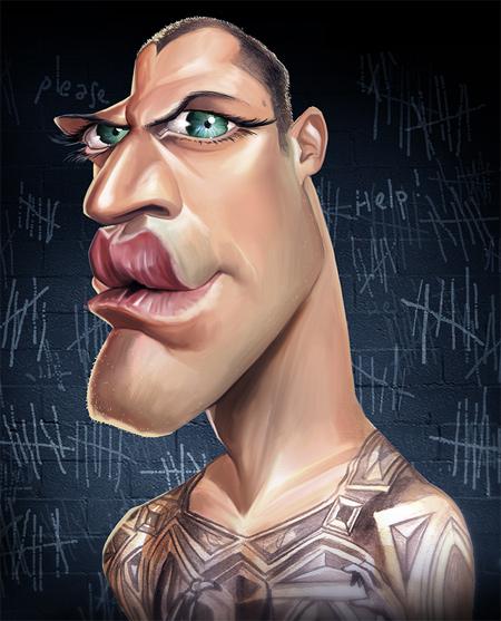 Michael Scofield Caricature