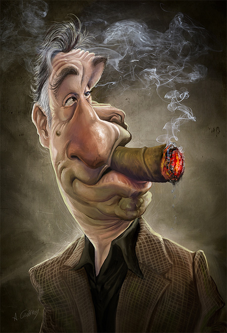 Robert de Niro Caricature