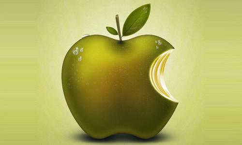 apple fruit logo