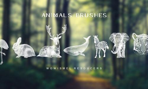 cool animal photoshop brushes