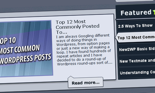 dynamic wordpress jquery