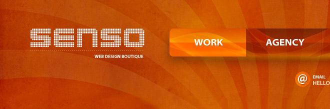 Showcase of 30 Orange Juicy Websites