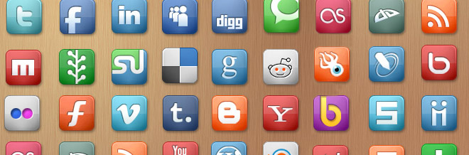 44 Must Have Free Social Media Icon Packs