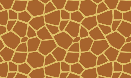 giraffe brown pattern