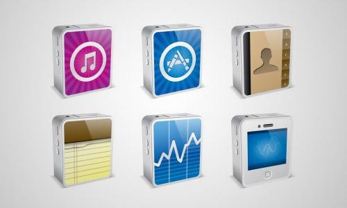 iphone mini icons