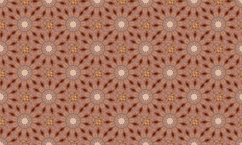 Floral Brown 4