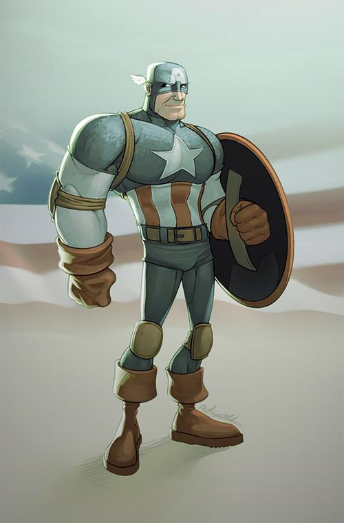 Captain America 54