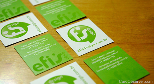 efis bussines card design