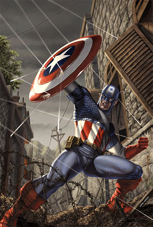 Captain America Sample Cover