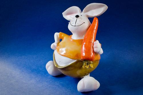 nice carrot rabbit wallpaper