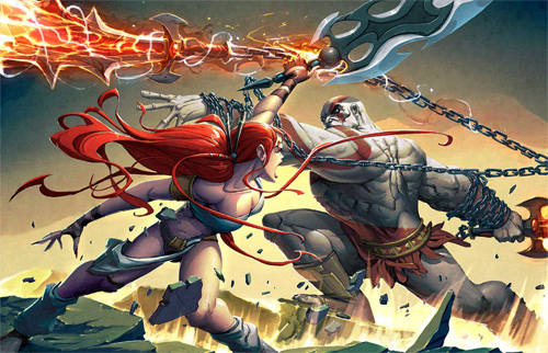 Kratos VS Nariko