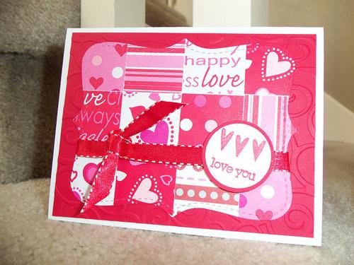 Valentine Quilt Card - 2011