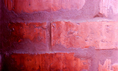 Abstract Red Brick