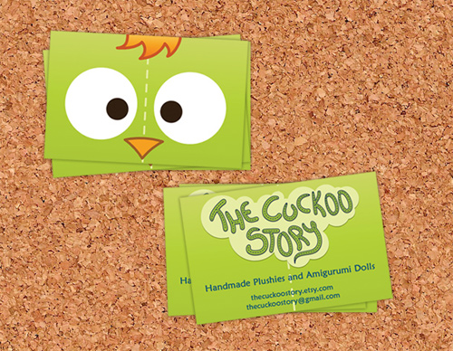 Cuckoo Story business card