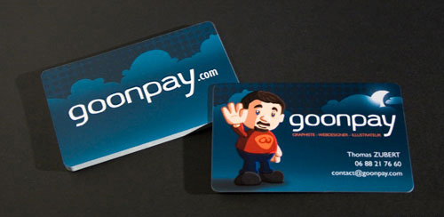 goonpay business card
