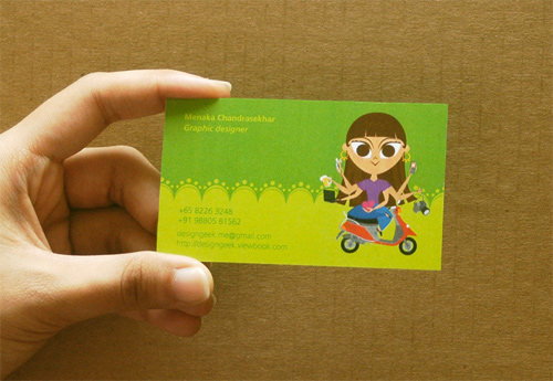 Namecard Green
