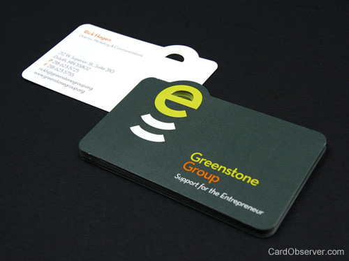 greenstone business card