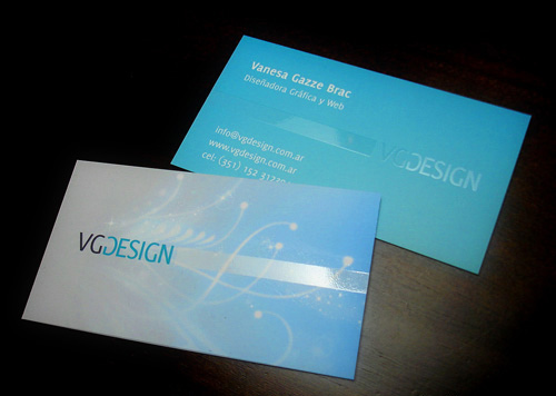 personal business card vg