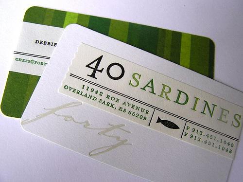40 sardines