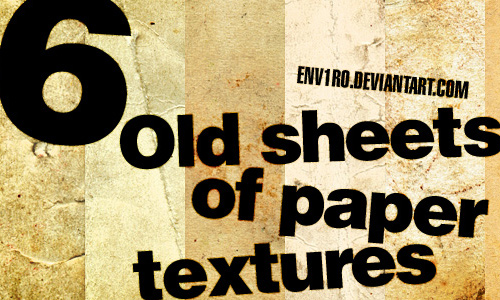 Old Sheets of Paper Texures