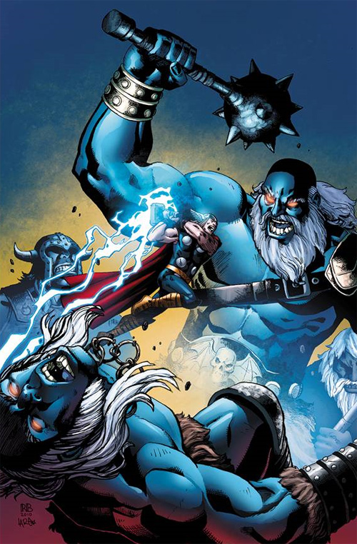 Thor vs Frost