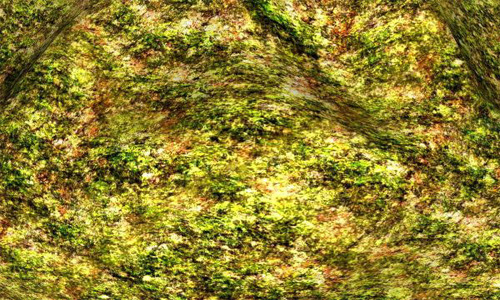 Seamless Mossy Rock Texture 10