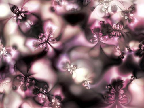 Spring Floral Fractal