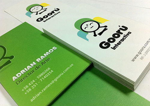 gooru interactiva business card
