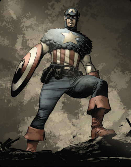 Captain America Interior art
