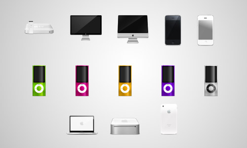 apple pack icons